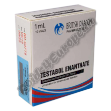 Testabol Enanthate 250mg ampulle (BRITISH DRAGON)