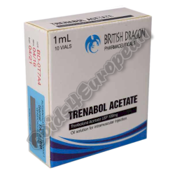 Trenabol Acetate 100mg ampulle (BRITISH DRAGON)
