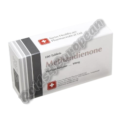 Methandienone 10mg (SWISS HEALTHCARE)